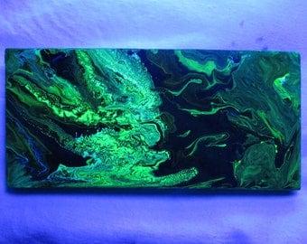 "UV - ""Green Stone"" painting"