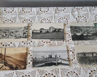 Set of 6 cards 1905/1920 Gironde French postcards.