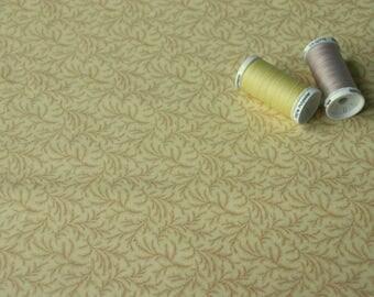 American patchwork yellow straw by Jinny Beyer fabric