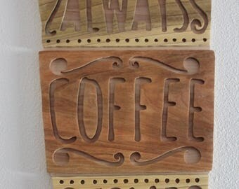 Coffee Sign Wall Art