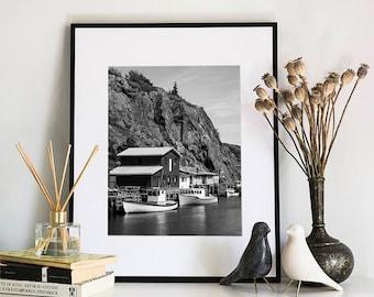 Quidi Vidi, Photographic Print, 5x7, 8x10