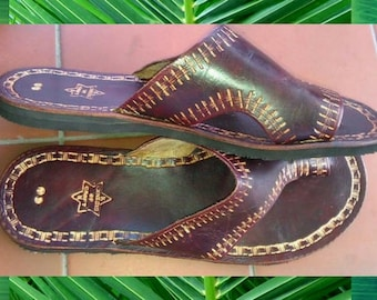 Orinduik Men's Leather Sandals - Made to Order