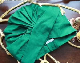 Turban De Jour - Emerald Green