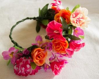 Summer Sunburst Flower Crown