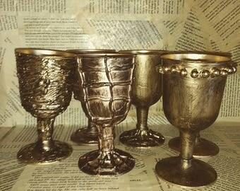 Medieval goblet etsy - Plastic medieval goblets ...