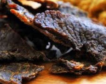 Jerky idea etsy easter giftsfree shippingsweet and spicey beefjerkybeef jerkygifts for negle Choice Image