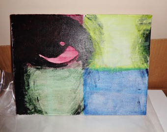 The Eye Acrylic Painting
