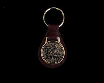 Vintage Flower Keychain