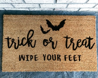 Halloween Themed Custom Doormat