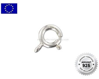 925 Silver - 5/6/7mm - 1 or 10  Springing Clasp