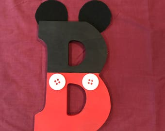 """Mickey Mouse """"B"""""""