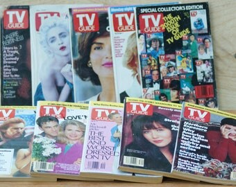 10 1991 TV Guides