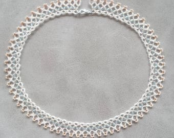 The Choker in tatting and beads