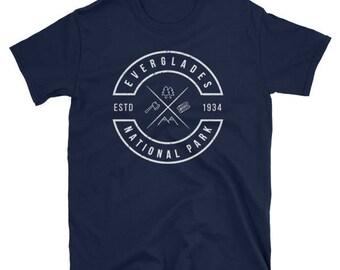 Everglades National Park T Shirt Florida Souvenir Emblem