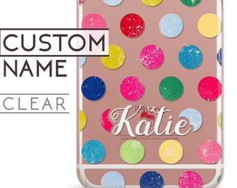 LG V30 case, LG V20 case, LG Q6 case, polka dot, rubber case, Lg M2 case, Lg G2 Lite case, Lg G2 case, Lg K5 case, Lg Nexus 5 case, Lg X c75