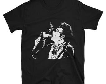 Kramer T-Shirt   Here's To Feeling Good All The Time!   Seinfeld Shirt   Unisex T-Shirt