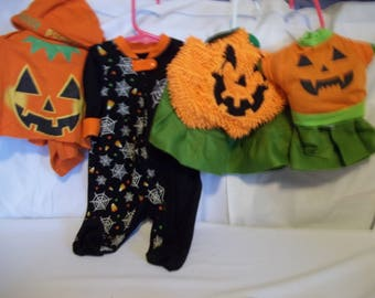 Halloween Pumpkin Outfits