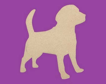 A decorate beauceron dog MDF medium support