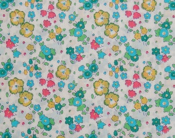 Tissu Liberty of London  Tissu  Liberty turquoise, collection Ella and Libby