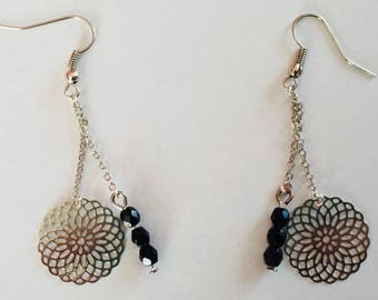 Pair of earrings Rozetto