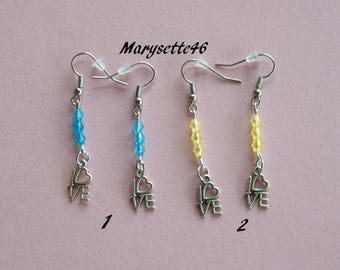 Delicate earrings for a romantic look