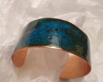 Copper Patina Wrist Cuff