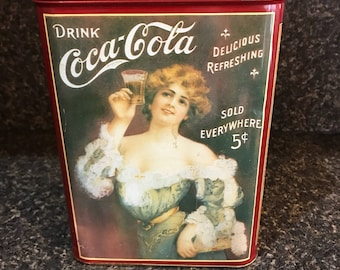 Coca-Cola Decorative Tin