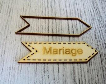 Arrow wedding text possible change 1310 scrapbooking invitation