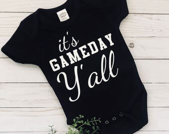 It's Gameday Y'all Onesie