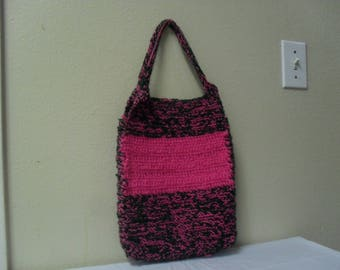 Two-toned Crocheted Purse