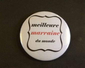 Very nice Magnet 56 mm Meilleure godmother of the world