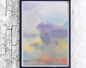 Abstract Watercolor Painting, Watercolor Art, Abstract Poster, Digital Print, watercolor painting, Abstract watercolor, Abstract Wall art