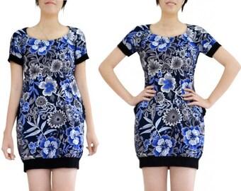 Bubble (M80) print cotton tunic dress