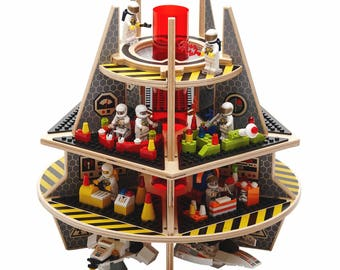 Base Ace 3D Play Platform for Mini Figures, Kit 3 Special Edition - Gift