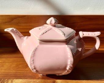 Pink Starfish Ceramic Teapot by Hall USA