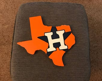 Houston Astros - wooden sign