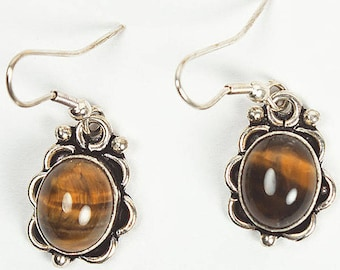 Environmental issues of fair trade and ethical amber stone earrings