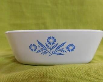 Corningware Blue Cornflower P-41-B Petite Baking Dish 1.75 Cup
