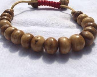 Yak Bone Adjustable Bracelet