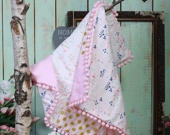 Quilt Baby Blanket.