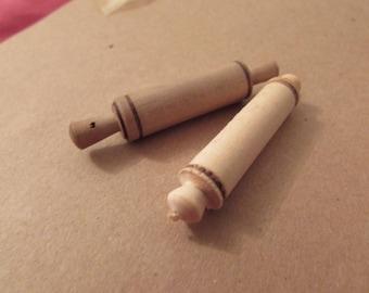 Miniature wooden roller