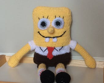 Crochet Spongebob