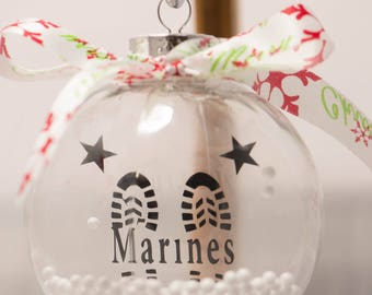 Marines floating ornament