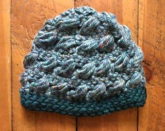 Chunky Puff Stitch Hat