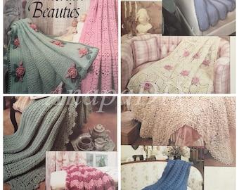 PDF 8 Crochet Victorian Beauties Afghans