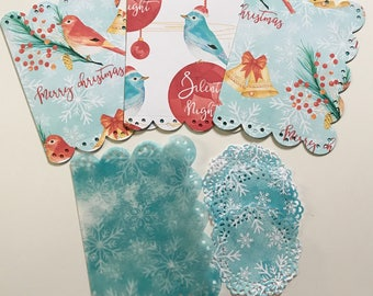 Christmas Birds Dashboard Set