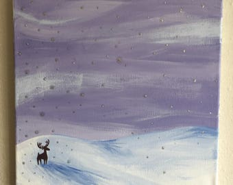 Snow Drift Painting