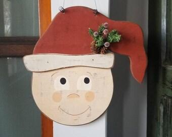 Hanging Elf Head