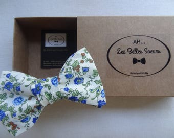 Jacques cotton fabric tied bow