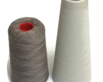 Knitting yarn 100 gr 1250 fine merino brown melange wool blend Machine washable Konenstrickgarn Maschinenstricken Wollmischung
